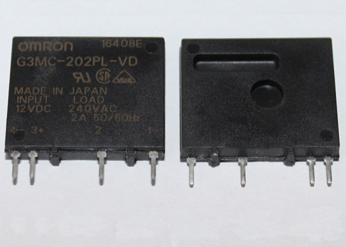 Omron solid state relay G3MC-202PL-VD-12VDC - 2A (4 Pin)